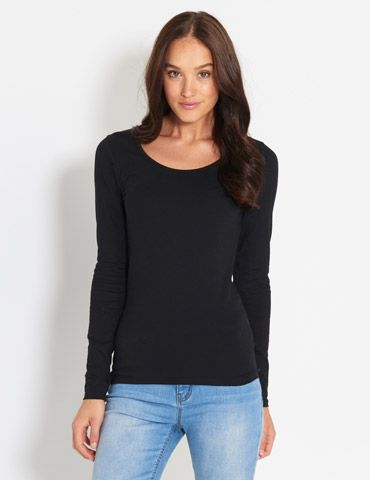 Forever Round Neck Top