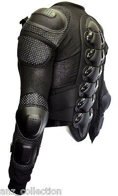 Body Armour Motorcycle Motorbike Motocross spine Protector Guard Bionic Jacket in Vehicle Parts & Accessories, Clothing, Helmets & Protection, Motocross & Off Road Clothing | eBay