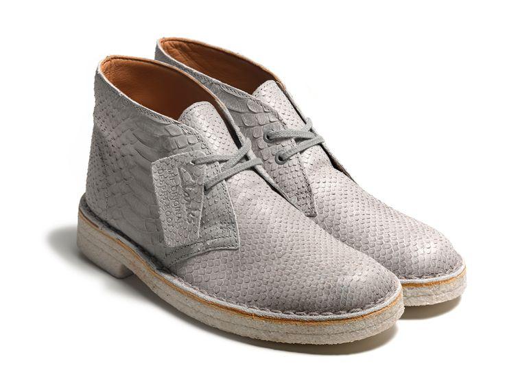 Clarks Herren, Desert Boots, Euro, Herrin, Snake, Leather, Snakes