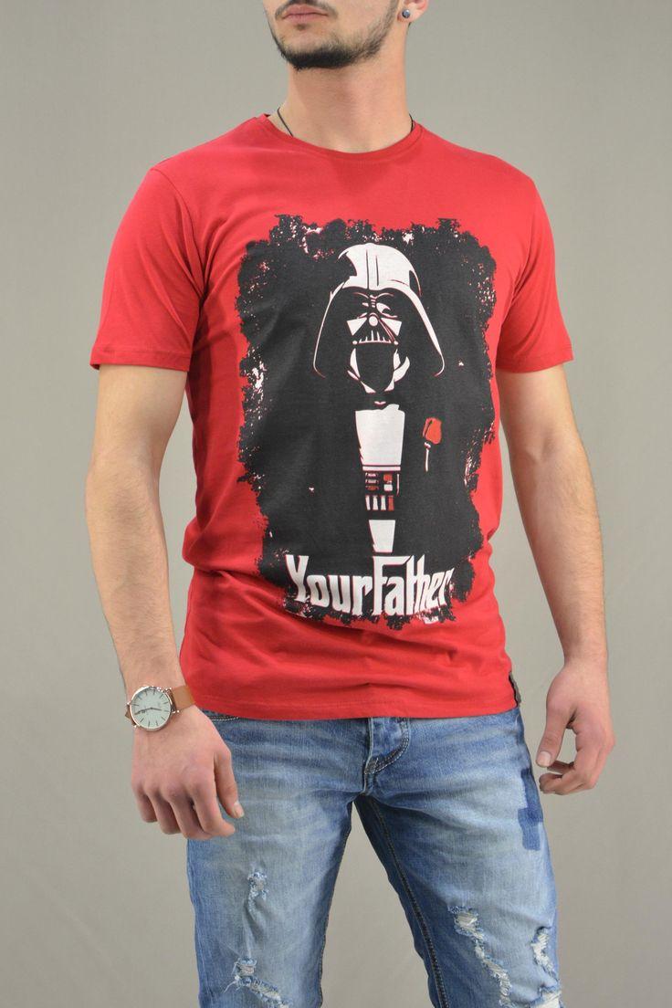 Ανδρικό t-shirt Star Wars Your Father MPLU-0824-re | Άνδρας