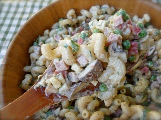 Ham, Peas and Pasta Salad