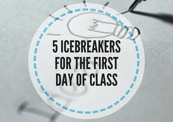 5 Icebreakers for the first day of class is a mini collection of activities to be done on the first day of class with teenage and adult students.