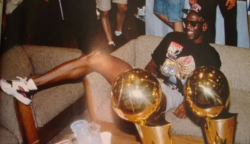 Lebron's got nothin' on Mike