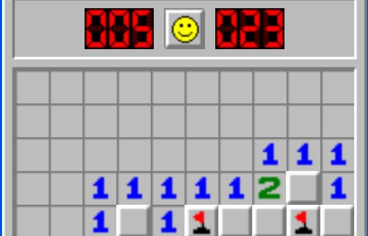 Minesweeper : Old style logic game