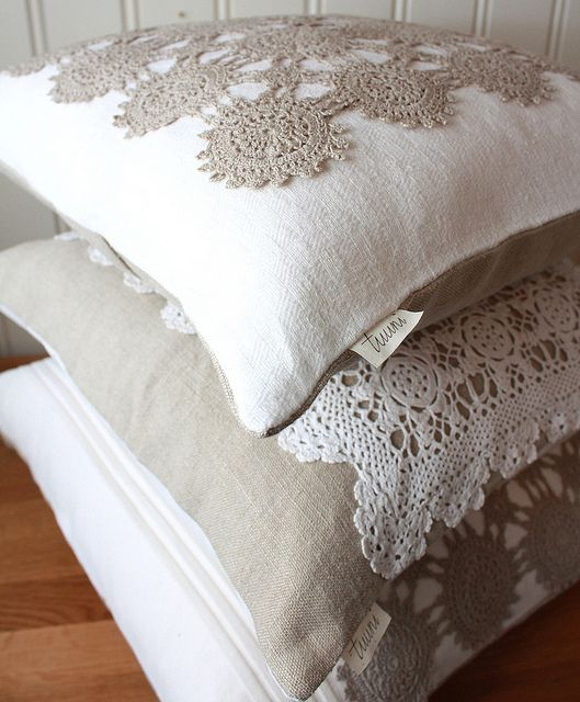 Cute doily pillow patterns