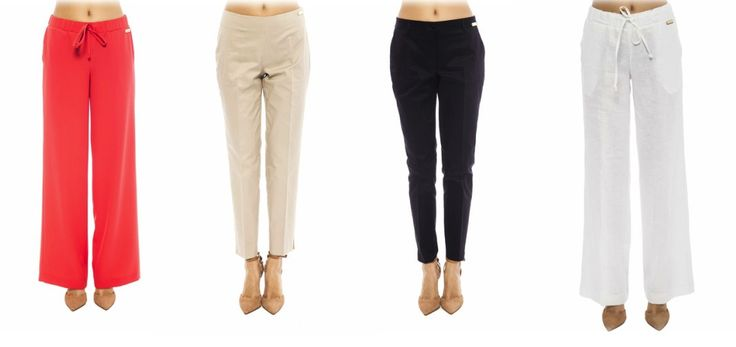 Get summer lady's pants form TRUSSARDI at: https://storebrandsvip.com/b2b/products/?brand=25&category=1&season=14