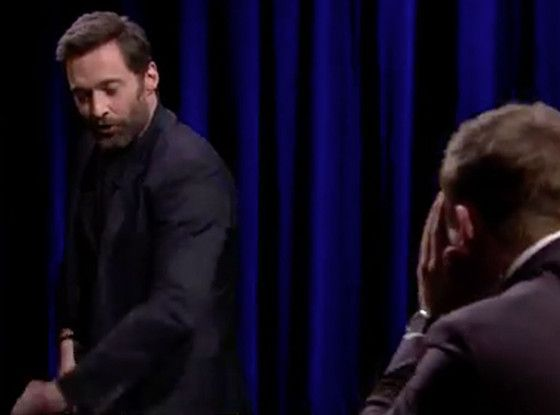 Hugh Jackman Turns Jimmy Fallon's Catchphrase Game Into a Hilarious NSFW Moment | E! Online Mobile