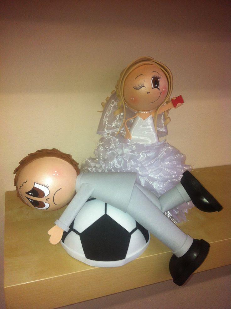 Svatební postavičky - fofucha