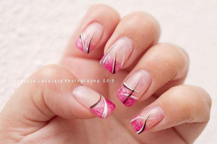 16 best ongles en gel images on pinterest gel nails. Black Bedroom Furniture Sets. Home Design Ideas