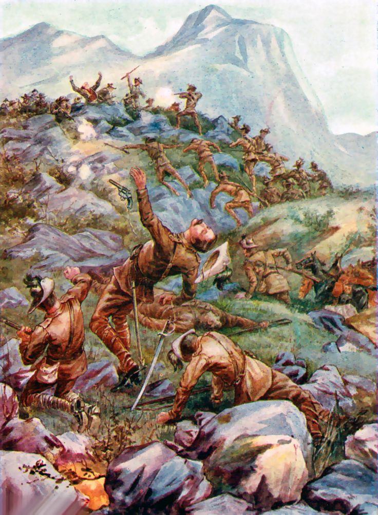 Death of Captain De Montmorentcy VC, Battle of Stormberg, Anglo-Boer War