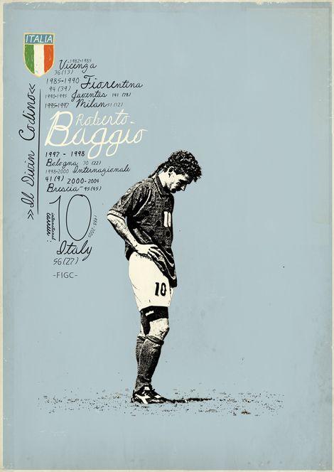 Roberto Baggio: fui de cada uno de los equipos en los que jugó jajaja
