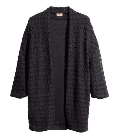 Knitted Cardigan (art no. 72-5699) size 10-12 black from | H&M GB (Have not tried this on so may need a gift receipt just in case!)