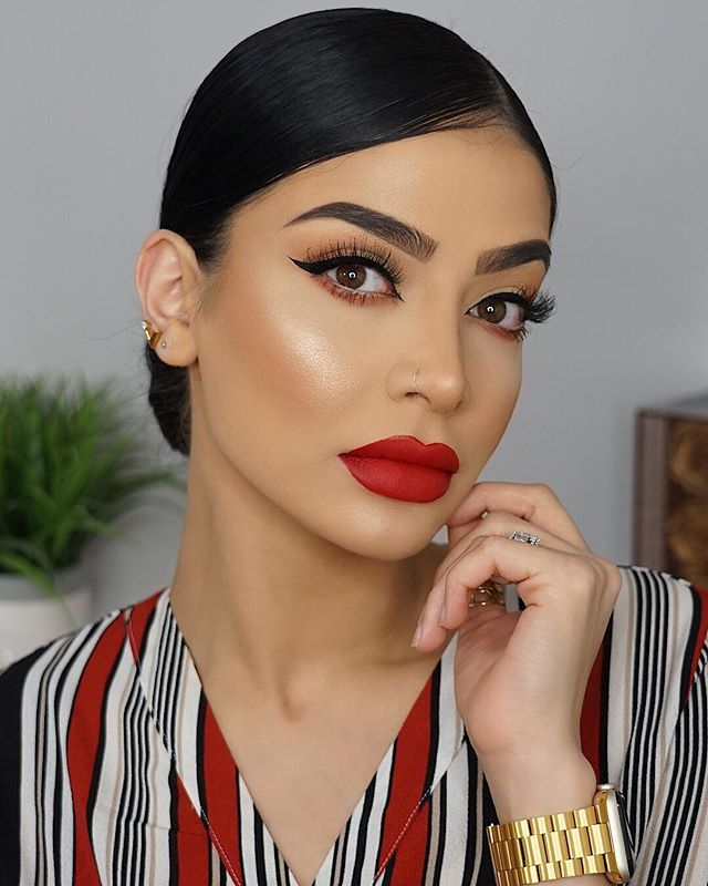 Instagram With Images Red Lips Makeup Look Beauty Hair Makeup