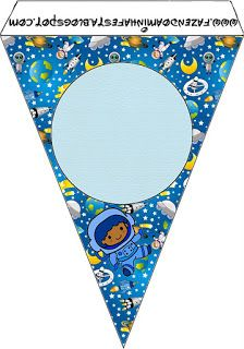 Astronaut Kid Party: Free Party Printables, Images and Papers.