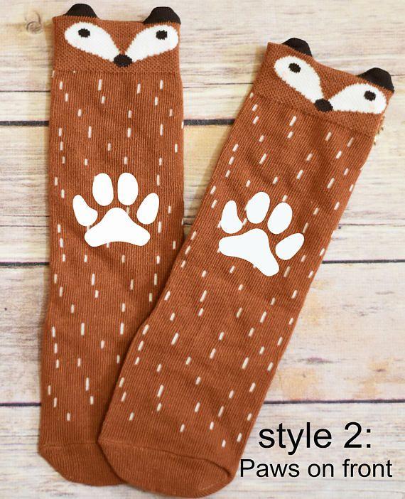 Calcetines Fox leotardos calentadores de la pierna de Fox
