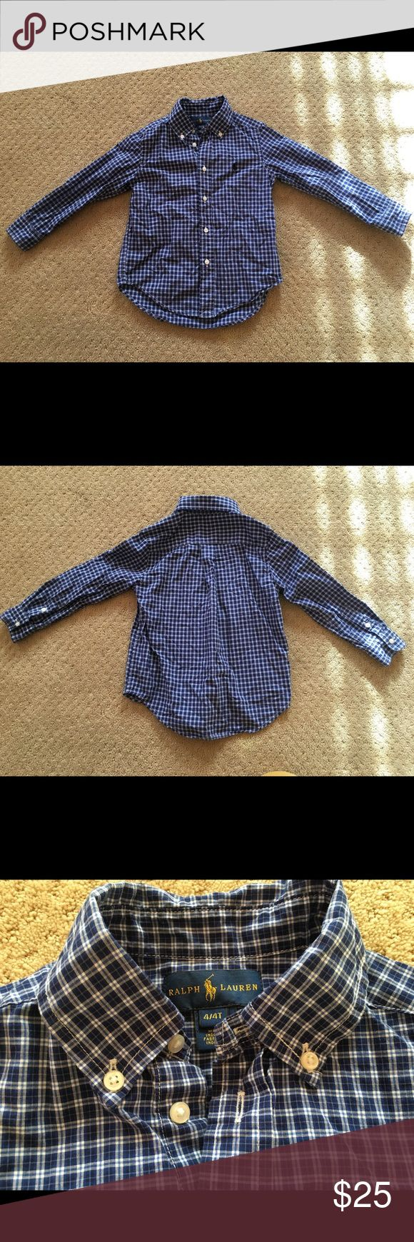 Ralph Lauren boys dress shirt Great condition Ralph Lauren Shirts & Tops Button Down Shirts