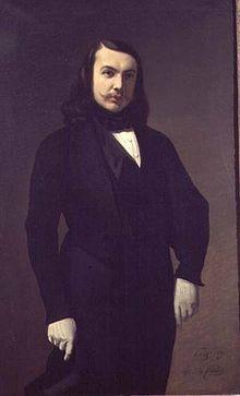 Portrait par Auguste de Châtillon (1839)