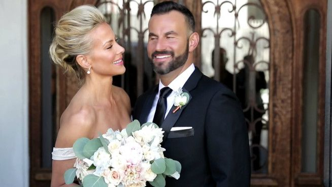 """In this exclusive People Weddings Special, get insider access to Sweet Valley High's Brittany Daniel on her amazing wedding journey – from multiple, exclusive wedding planning trips ranging from the cake to the dress — to the big day when she said """"I do"""" to her now husband, Adam Touni in the urban-chic setting of downtown Los Angeles. Along the way, her famous twin sister, Sweet Valley High co-star and Maid of Honor Cynthia Daniel Hauser helps with the planning festivities, as does her The…"""