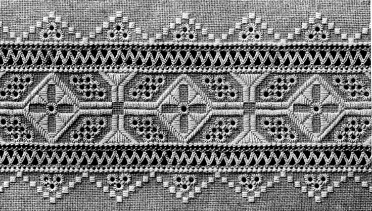 FolkCostume: Whitework embroidery of Sniatyn district, Pokuttia region, Ukraine