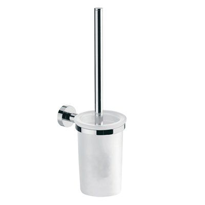 WS Bath Collections Duemila 5506 Toilet Brush and Holder, Polished Chrome