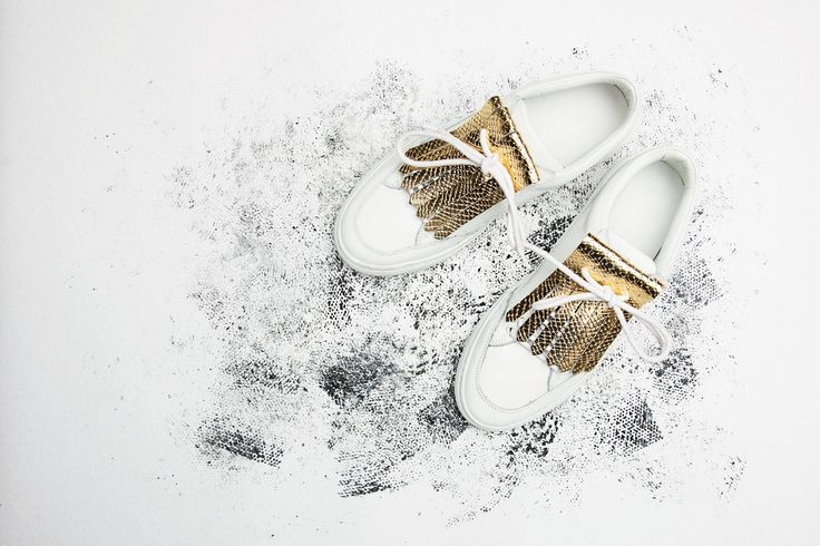 Party proof sneakers with these golden fringes! Now in store! x