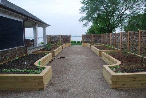 Beautiful raised beds gardening pinterest gardens for Beautiful raised gardens