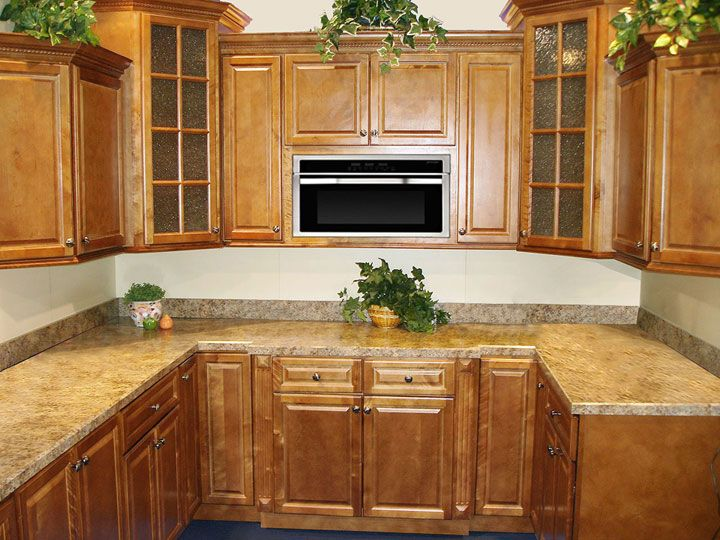 KCK Cabinetry   Spice Maple Finished Kitchen. Discounted Kitchen Cabinets  By Kitchen Cabinet Kings
