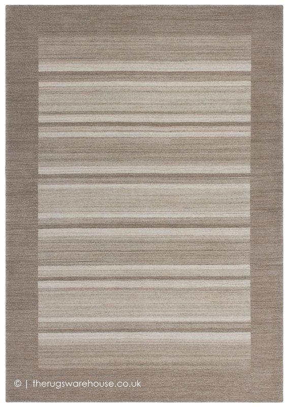 Clairmont Beige Rug Striped Rugs
