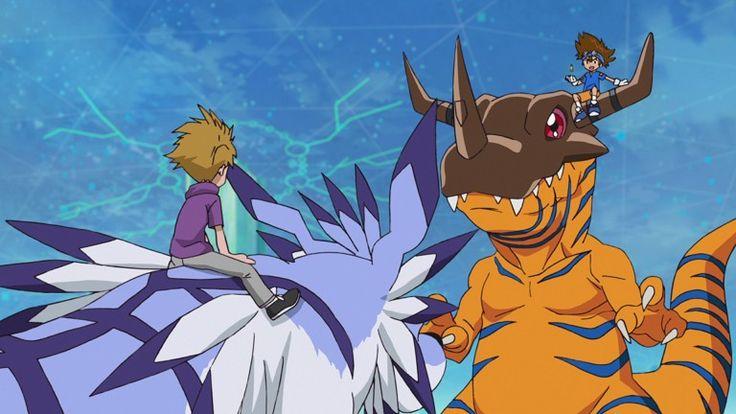 Digimon adventure 2020 episode 3 in 2020 digimon