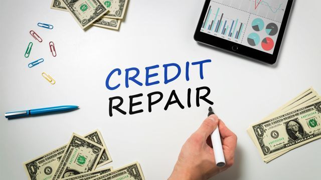 Fix credit: You can pay a credit repair company to fix your credit, but if you're willing to invest your time instead of your cash