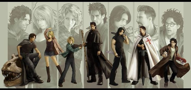 The Dresden Files Team by Mika Merrylark