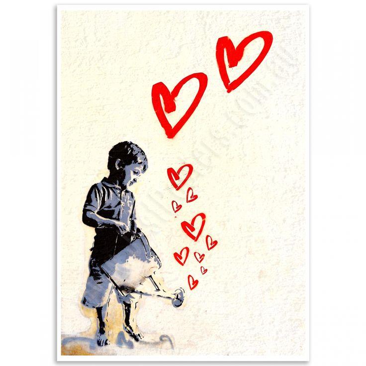 Street Art Poster - Padua Love Child