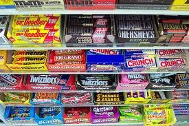 Ah, the days when I liked candy and had no notions of calories, sugar, and fat grams...