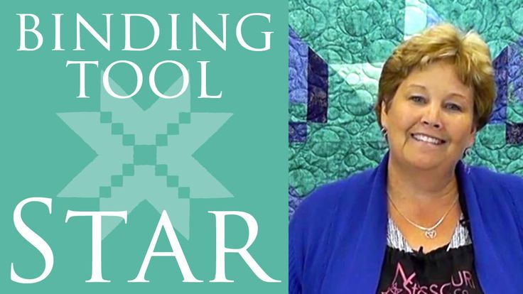 The Binding Tool Star Quilt: Easy Quilting Tutorial with Jenny Doan of Missouri…