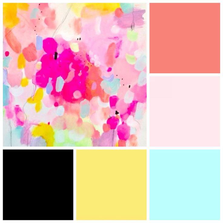 Crear tu propia paleta de colores para decorar tus espacios - Paleta de colores pared ...