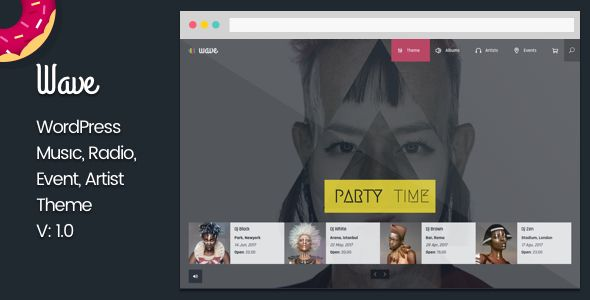 Wave, a responsive WordPress Theme, was built on Visual Composer and strongly supports WordPress 4x with HTML5 and CSS3. Wave also makes use of BbPress, revolution Slider, Essential Grid, WooCommerce and other. For these reasons, Wave is a good choice for you to create an awesome website.