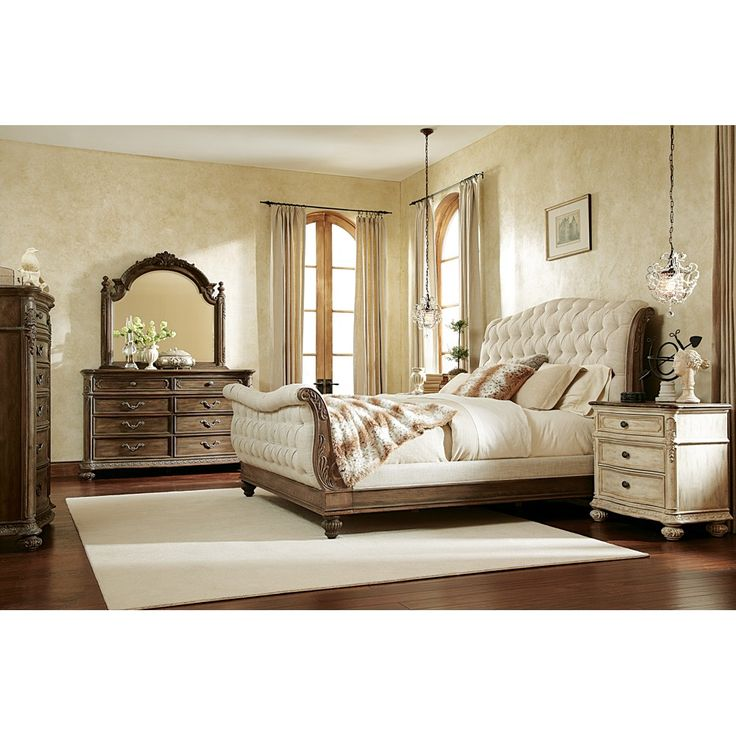 American Drew S Jessica Mcclintock Boutique Collection Sleigh Bed In Baroque By Humble Abode Romantic In