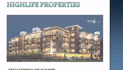 Highlife Properties - Yashaswinii Meadows is, probably one of the most privileged ventures in town which is why it carries the aura of a divine guiding light and a luminary leadership.