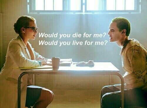 Would you? ~ Joker Quote