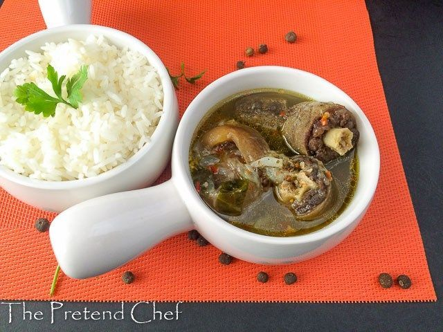 Nigerian Oxtail Pepper Soup Stuffed Peppers Stuffed Pepper Soup Oxtail