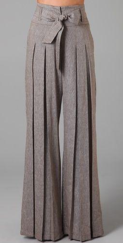 Pantalones plisados elegantisimos.........