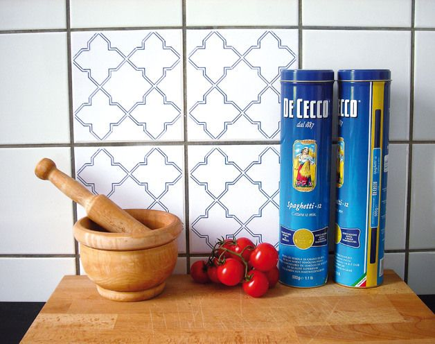 How To Diy Kitchen Tiles