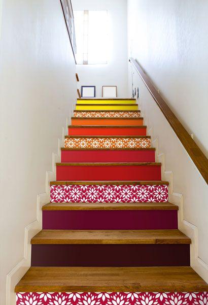 les magazines et la tv parlent de notre dcoration adhsive innovante pour le carrelage mural - Faience Coloree Cuisine
