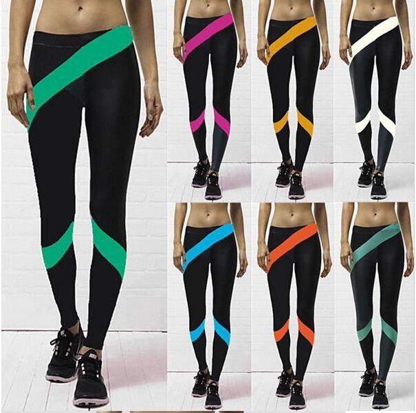 US Sport Leggings Woman Skinny Legging Pants