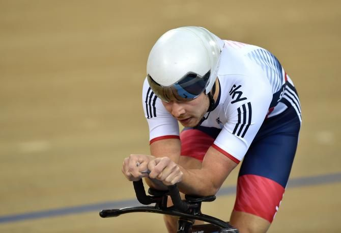 Debut at Paris-Tours in Team Sky (Photo: Owain Doull (Great Britain) qualified for the bronze medal final)