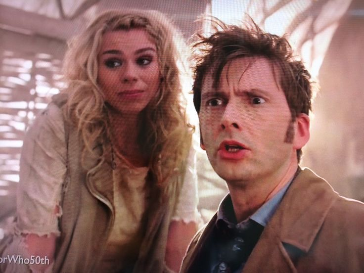 """""""Did you just say- bad wolf?"""" // I think what we need to appreciate is that it was at this exact moment that the great hair made its reappearance. <-- YES"""
