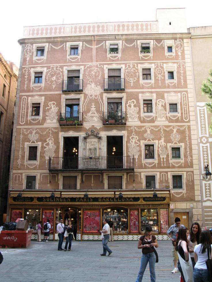 Pla a del pi barcelona catalonia barcelona lugares - Arquitectura barcelona ...