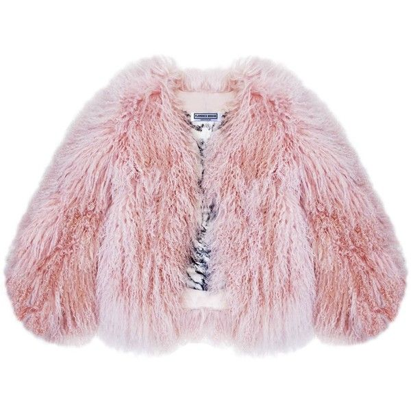 Florence Bridge - Matilda Jacket found on Polyvore featuring outerwear, jackets, 100 leather jacket, leather jackets, real leather jackets, genuine leather jackets and pink leather jacket