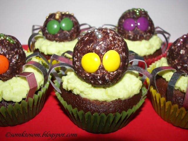 RECEPTY Z MOJEJ KUCHYNE A ZÁHRADY: Crazy muffiny alebo cupcakes (nielen na Halloween)