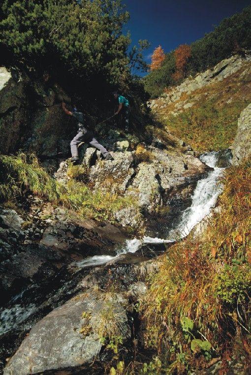 Jakubovianské vodopády (blízko Jakubovany - Studená dolina)